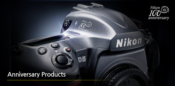 Nikon 100th Anniversary Products Lineup