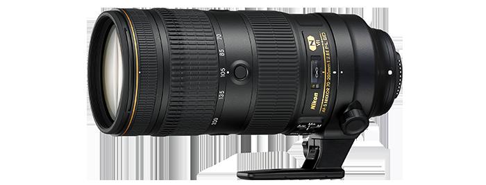 AF-S NIKKOR 70-200mm f/2.8E FL ED VR 제품 이미지