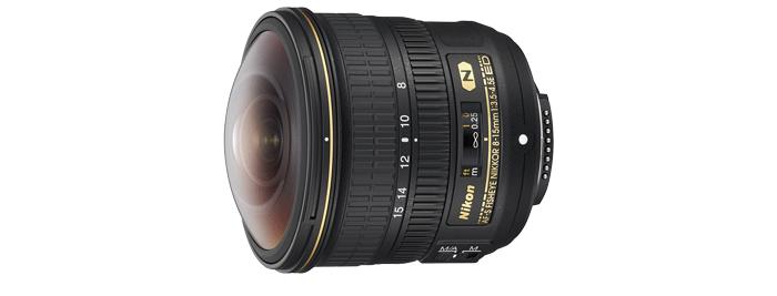 AF-S Fisheye NIKKOR 8-15mm f/3.5-4.5E ED 제품 이미지