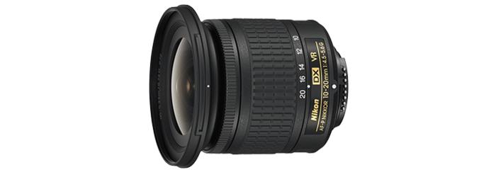 AF-P DX NIKKOR 10-20mm f/4.5-5.6G VR 제품 이미지
