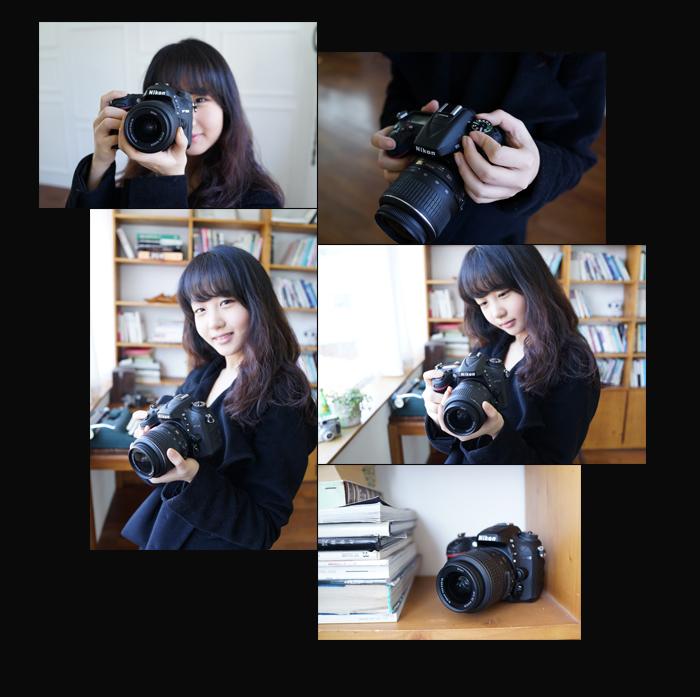 D7100을 들고있는 여성의 4장과 d7100 이미지