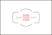 f/5.6 초과~f/8미만 대응의 포커스 포인트
