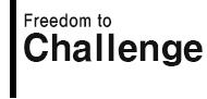 Freedom to Challenge : 자유와 마주하다