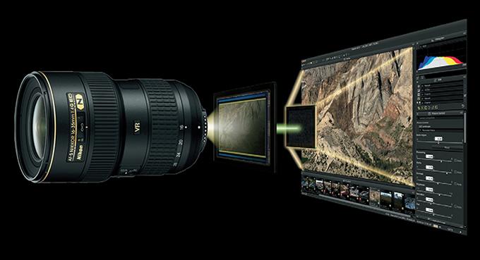 D750의 고품격 화질을 지지하는 4가지 테크놀로지와 순정 소프트웨어