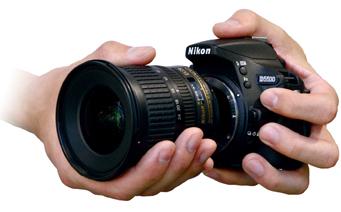 니코르 렌즈 장착중인 D5500 이미지
