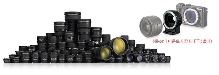 Nikon 1 마운트 어댑터 FT1(별매)