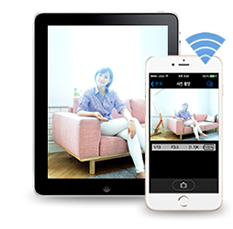 스마트폰 및 태블릿에서 리모트 촬영