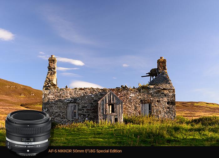 AF-S NIKKOR 50mm f/1.8G Special Edition 렌즈 샘플