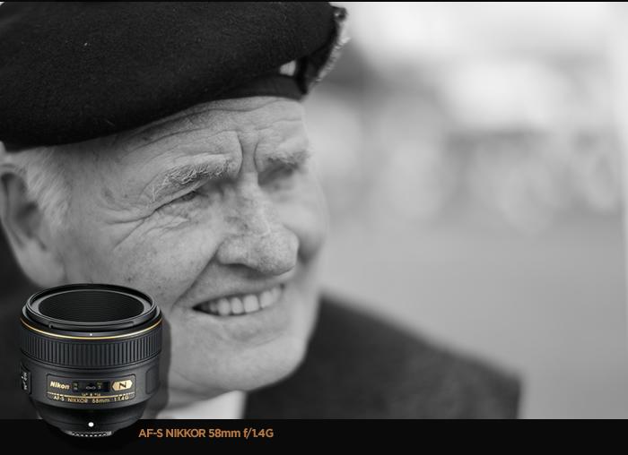 AF-S NIKKOR 58mm f/1.4G 렌즈 샘플