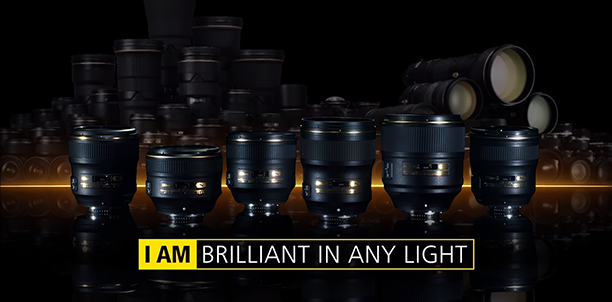 NIKKOR F/1.4 렌즈 : I AM BRILLIANT IN ANY LIGHT