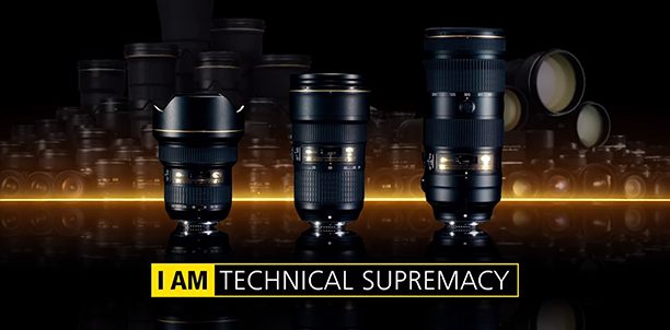 NIKKOR F/2.8 렌즈 : I AM TECHNICAL SUPREMACY