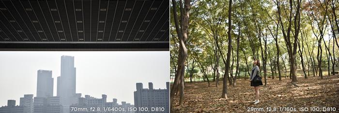 70mm f2.8 1/6400s ISO 100 D810/ 29mm f2.8 1/160s ISO 100 D810 샘플이미지