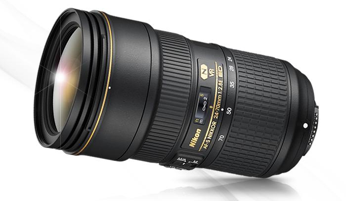 AF-S NIKKOR 24-70mm f/2.8E ED VR 렌즈 이미지