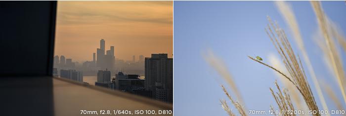 70mm f2.8 1/640s ISO 100 D810 / 70mm f2.8 1/3200s ISO 100 D810 샘플사진